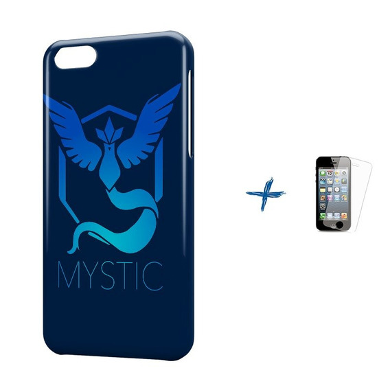 Kit Capa iPhone 5c Pokemon Mystic Team +pel.vidro Bd1