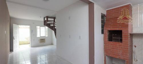 Casa Em Condomínio Horizontal Fechado, Na Landel De Moura, Bairro Tristeza Em Porto Alegre - Ca0566