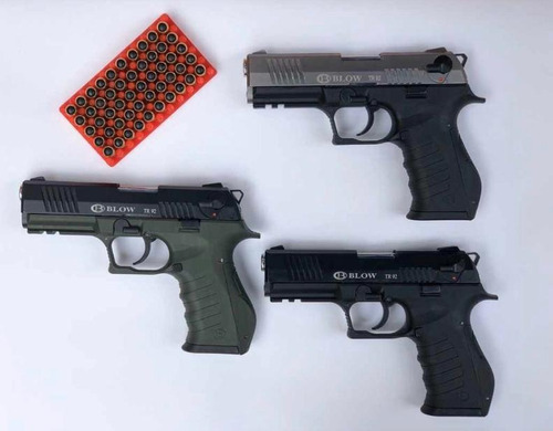 Pistolas Traumaticas Fogueo Blow Pa +50 Tiros, 2 Proveedores