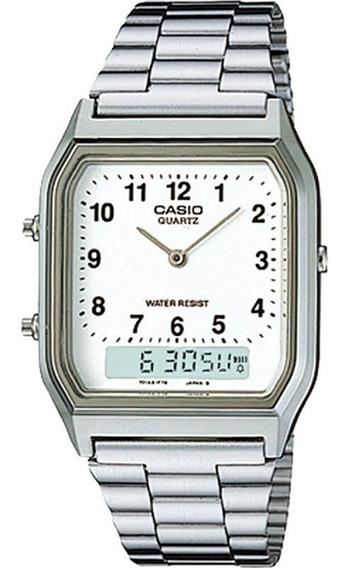 Relógio Casio Vintage Masculino Aq-230a-7bmq