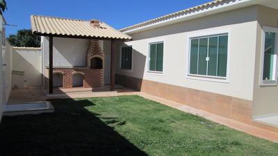 Casa Com 3 Quartos E Churrasqueira Em Itaipuaçu - 321