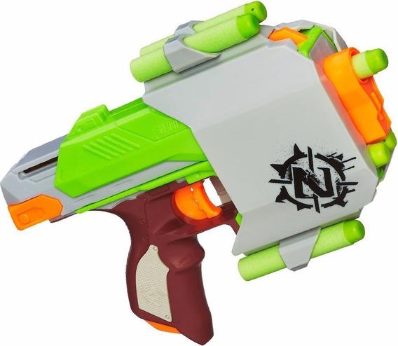 Lançador De Dardos Nerf Zombie Strike Sidestrike C/ Estojo