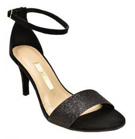 13c97f6e09 Sandalia Salto Com Brilho Via Marte - Sapatos no Mercado Livre Brasil