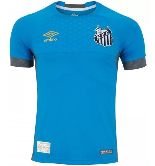 Camisa Santos Goleiro Umbro 2018 Masculino - 40723