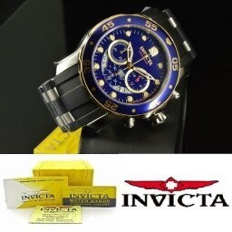 Relógio Invicta Pro Diver Blue 22971 Cronógrafo 100%original