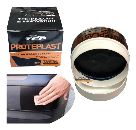 Revitalizador De Plastico Proteplast Premium Rende 30 Carros