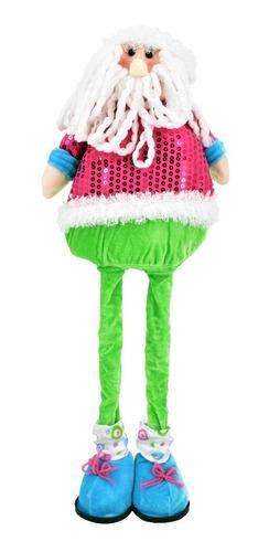 Mono De Nieve Decoración Navidad Colores Pasteles