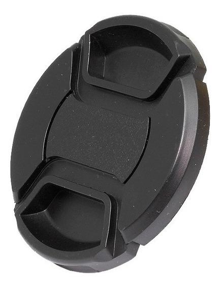Tapa Frontal Lentes Objetivos Nikon Canon Diámetro 58mm