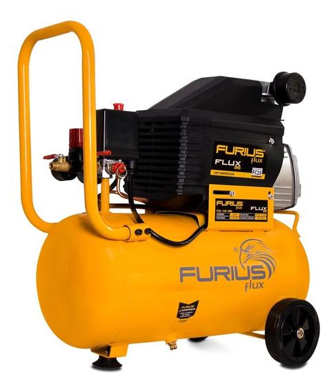 Compresor De Aire Furius, 2.0hp - 25lts