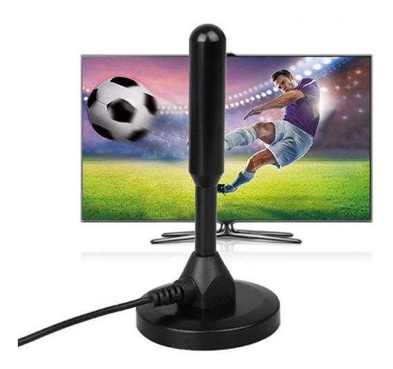 Antena Tv Digital Hdtv Ultra Interna Externa Cabo Promoção