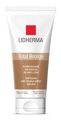 Promo! Emulsion Autobronceante Total Bronze - Lidherma