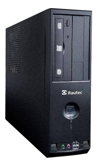 Computador Pc Desktop Slim Intel I3 4gb 500gb Win10