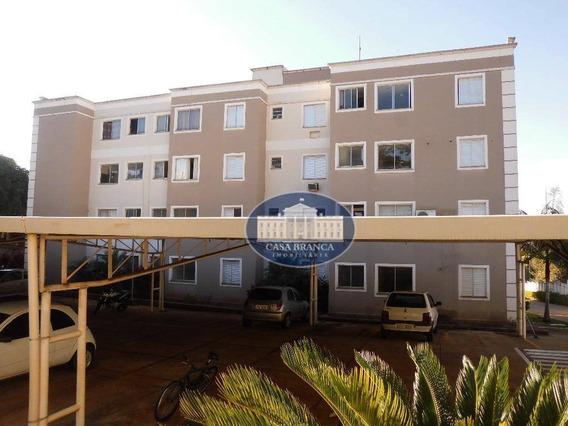Apartamento Com 2 Dormitórios Para Alugar, 46 M² Por R$ 900,00/mês - Jardim Paulista - Araçatuba/sp - Ap0773