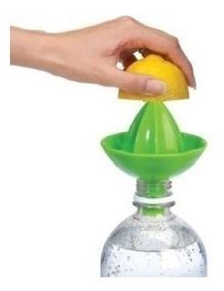 Imagem 1 de 4 de Sombrero-espremedor De Limão Direto Na Garrafa Umbra Verde