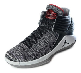Tenis Nike Air Jordan Xxxii 32 Mvp Black Cement Originales