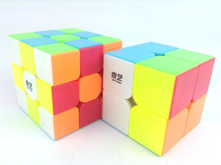 2 Cubos Speed Rubik : Qiyi Qidi S 2x2 + Warrior W 3x3