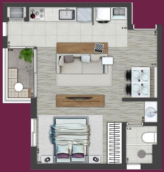 Touch Studio Jardim - Apartamento Tipo Studio