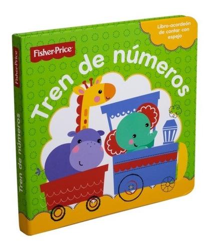 Libro Para Bebe: Tren De Numeros Fisher Price