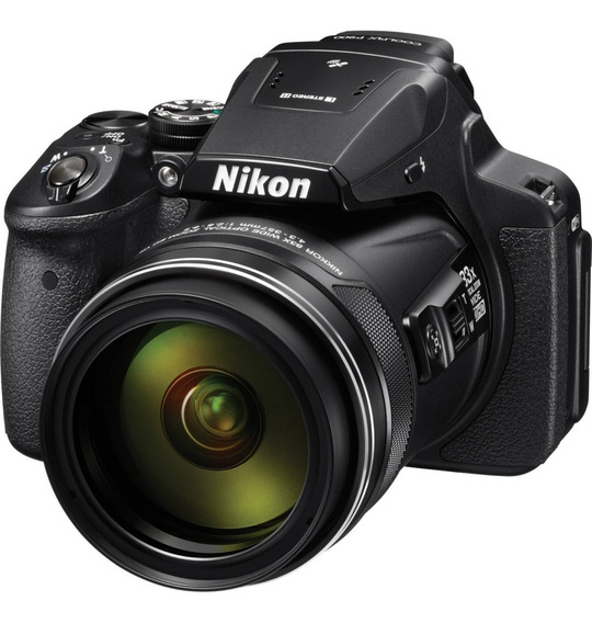 Camara Nikon P900 Coolpix 16mp 83x Zoom Wifi Full Hd Gps