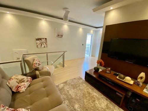Apartamento Cobertura Jardim Nova Europa 3 Dormitórios 1 Suite Reformada Acabamento Diferenciado - Apc001 - 68801237