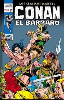 Conan El Barbar0 02: Los Clasicos Marvel - Smith, Romita Jr