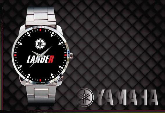 Relógio De Pulso Personalizado Moto Yamaha Lander Motard