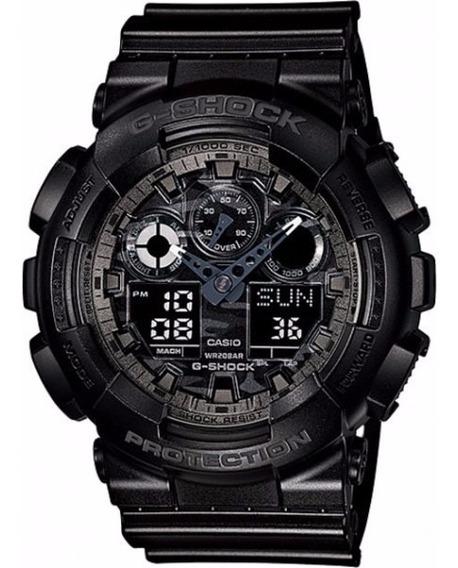 Relógio Casio G Shock Original Ga 100cf 1adr Nfe + Garantia
