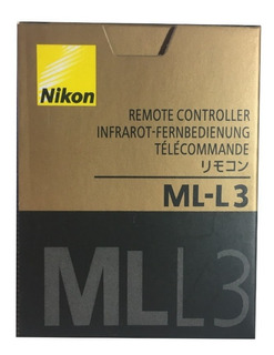 Control Remoto Nikon Ml-l3 - Nuevo