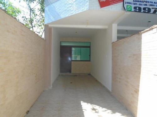 Casa À Venda, 90 M² Por R$ 480.000,00 - Marapé - Santos/sp - Ca0557