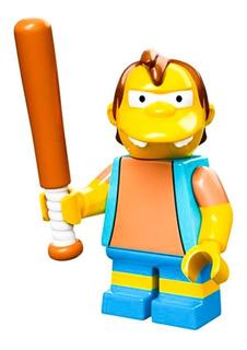 Nelson Lego Simpsons Serie 1 Nuevo En Sobre