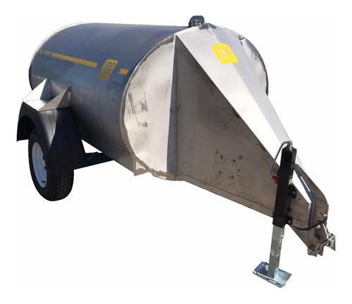 Acoplado Cisterna Combustible De Acero Inoxidable 2650l