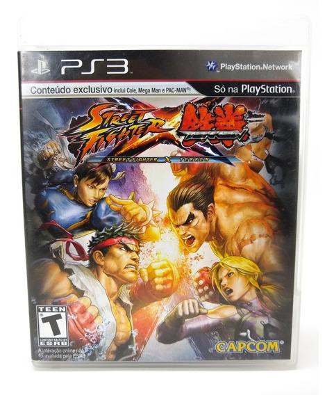 Jogo Street Fighter Vs Tekken Ps3 Frete Grátis