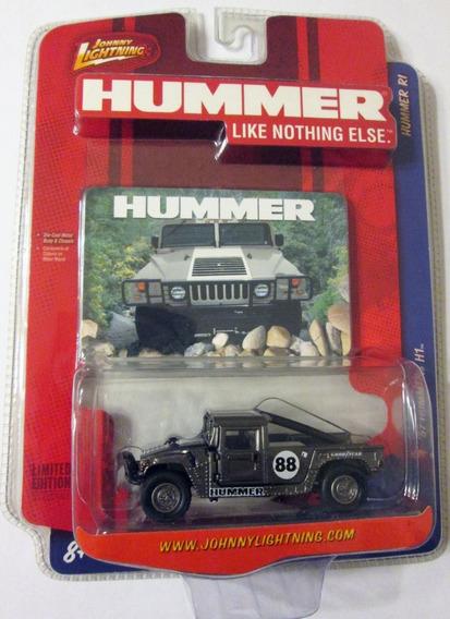Johnny Lightning 1997 Hummer H1 Ruedas De Goma Escala 1:64