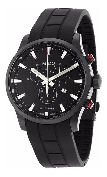 Reloj Mido Multifort Chrono M0054173705120 Negro Para Hombre