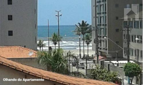 Apartamento Com 2 Dormitórios À Venda, 67 M² - Vila Guilhermina - Praia Grande/sp - Ap1779