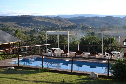 Cabañas En Icho Cruz/ Alquiler Temporal/10 Kms De Carlos Paz