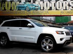 Jeep //grand Cherokee Limited// 2014 Seminueva!! Qc Piel Gps