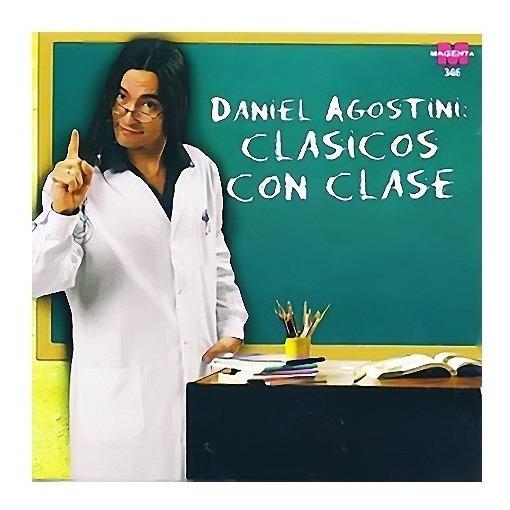 Daniel Agostini Clasicos Con Clase Cd Nuevo Original Sellado