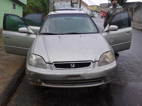 Sucata De Honda Civic 1.6 16v 1997