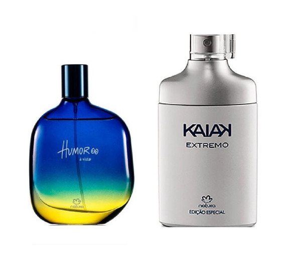 Perfumes Masculinos Natura: Humor A Vista + Kaiak Extremo