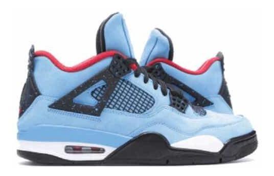 Nike Air Jordan Retro 4 X Travis Scott Cactus Jack