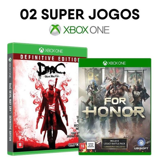 Dmc Devil May Cry + For Honor Limited Ed. - Xbox One