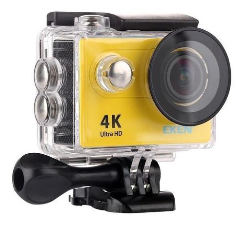 Câmera sportiva Eken H9R 4K NTSC/PAL yellow