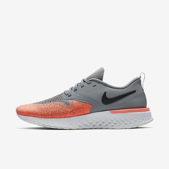 Tênis Nike Odyssey React 2 Flyknit Cinza Tam 39