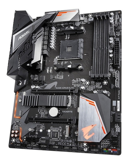 Mother Amd Ryzen Am4 Gigabyte Aorus B450 Elite Ddr4