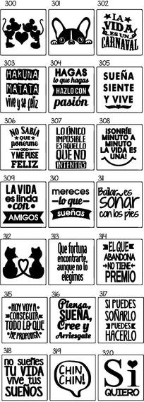 Etiquetas Frases Fiesta Personalizado Fluor Fest 65uni