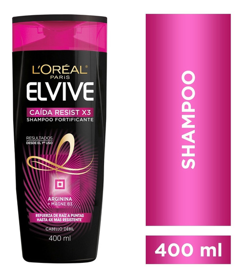 Shampoo Caida Resist Arginina X400ml Elvive Loreal Paris
