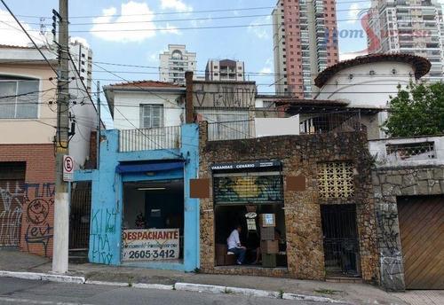 Imagem 1 de 2 de Terreno À Venda, 450 M² Por R$ 1.050.000,00 - Água Rasa - São Paulo/sp - Te0246