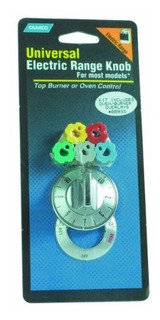 Camco 00933 Electric Range Knob Burneroven Chrome