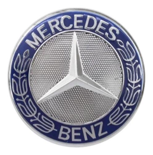 Imagem 1 de 4 de Emblema Mercedes Capô Sprinter Cromado